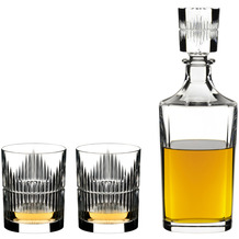 Riedel WHISKY SET SHADOWS (2 TUMBLER + 1 DEKANTER)