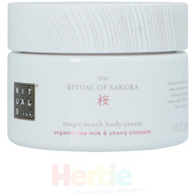 Rituals Sakura Magic Touch Body Cream Organic Rice Milk & Cherry Blossom 220 ml