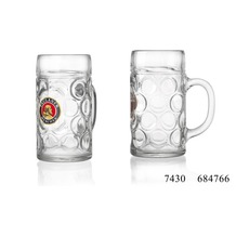 Ritzenhoff & Breker Bierseidel Glas 10x16x21cm Zylindrisch 1l bunt klar