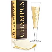 Ritzenhoff Champagnerglas von Andrea Hilles Blumen 200 ml
