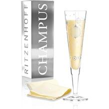 Ritzenhoff Jahrgangs-Champagnerglas 2019 von Concetta Lorenzo Illustration 200 ml