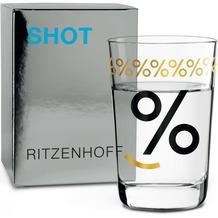 Ritzenhoff Schnapsglas von Carl van Ommen Prozent 40 ml