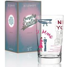 Ritzenhoff Softdrinkglas von Dominique Tage Schriftzug, Illustration 300 ml