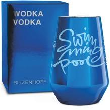 Ritzenhoff Vodkaglas von Claus Dorsch Schrift 300 ml