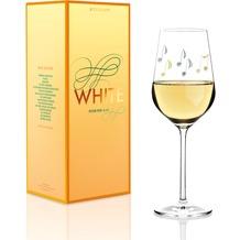 Ritzenhoff Weißweinglas von Angela Schiewer Schrift, Noten 360 ml