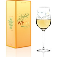 Ritzenhoff Weißweinglas von Kurz Kurz Design Herzen 360 ml