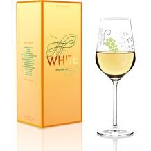 Ritzenhoff Weißweinglas von Nicole Winter Schrift, Weinreben 360 ml