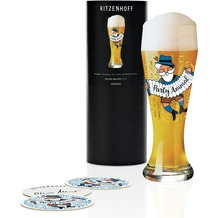 Ritzenhoff Weizenbierglas von Oliver Melzer Illustration 500 ml