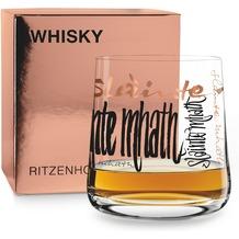 Ritzenhoff Whiskyglas von Claus Dorsch Schrift 250 ml