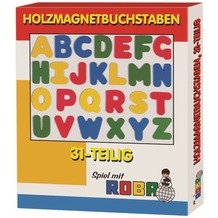 Roba Holzmagnetbuchstaben, 31-teilig