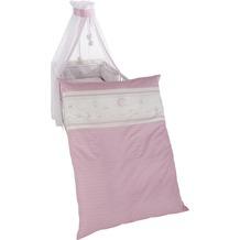 """Roba Kinderbettgarnitur 4-teilg """"Glücksengel rosa"""""""