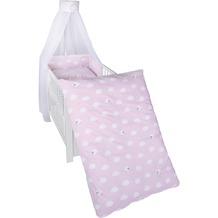 Roba Kinderbettgarnitur Kleine Wolke rosa