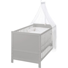 Roba Kinderbettset, 70 x 140 cm Sternenzauber grau