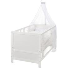 Roba Kinderbettset, 70 x 140 cm Sternenzauber weiß