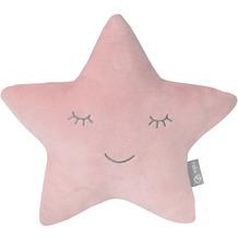 Roba Kuschel- und Dekokissen roba Style Stern rosa