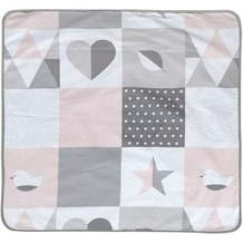 Roba Kuscheldecke Happy Patch rosa
