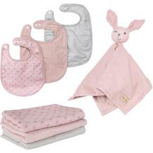 Roba organic Geschenkset Baby Essentials 'Lil Planet' rosa/mauve aus Bio-Baumwolle, GOTS, nachhaltig