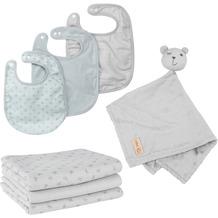 Roba organic Geschenkset Baby Essentials 'Lil Planet' silbergrau aus Bio-Baumwolle, GOTS, nachhaltig