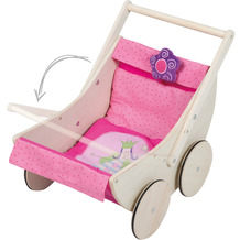 Roba Puppenwagen Happy Fee inklusive Textilausstattung
