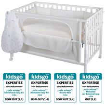 Roba Room Bed 60x120 cm Sternenzauber safe asleep® weiß