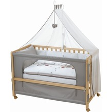 "Roba Room Bed ""Jumbotwins"", Holz natur"