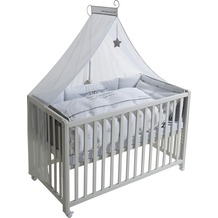 "Roba Room Bed ""Rock Star Baby 2"", weiß lackiert"