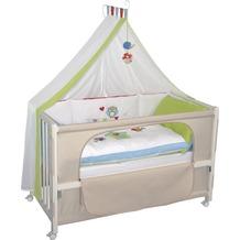 """Roba Room Bed """"Waldhochzeit"""", weiß lackiert"""