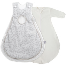 Roba Schlafsack Air PLUS 'safe asleep', 2 Tlg, Größe 56/62 Miffy safe asleep®
