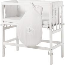 """Roba Stubenbett 4in1 """"Fox & Bunny"""", weiß lackiert, für Betten mit Komforthöhe"""