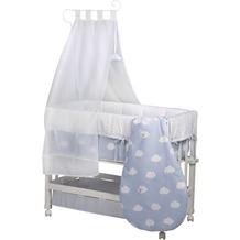 Roba Stubenbett Babysitter 3 in 1 Kleine Wolke blau