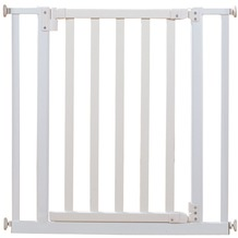 Roba Türschutzgitter Metall/Holz, weiß lackiert