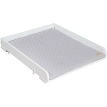 Roba Wickelplatte für Waschmaschine, inkl. Wickelauflage roba Style grau