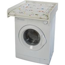 """Roba Wickelplatte weiß inkl. Wickelauflage """"Waldhochzeit"""", passend auf Waschmaschinen"""