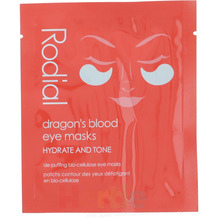 Rodial Dragon's Blood Eye Masks 8x5gr Hydrate And Tone 40 gr