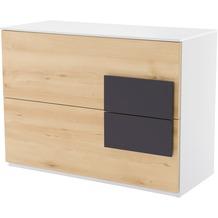 Röhr Sideboard Buche 100x74x46 cm Applikation Anthrazit