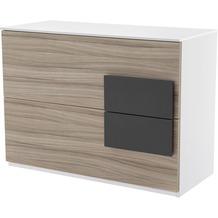 Röhr Sideboard Driftwood 100x74x46 cm Applikation Anthrazit