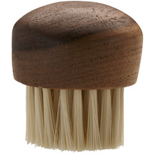 RÖSLE Pilz- und Gemüsebürste Ø 4 cm Walnußholz