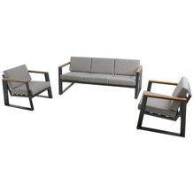 Royal Garden MWH Loungeset Royal Wilbury grau