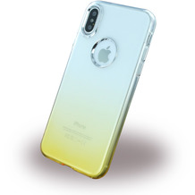 Cyoo Ruber Soft Silikon Case für Apple iPhone X, Gold