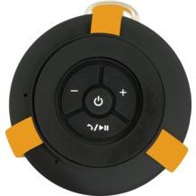 RugGear Bluetooth Speaker mit Freisprecheinrichtungm, Schwarz/gelb