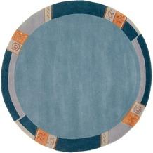 Luxor Living Nepalteppich Manali 101 blau 250 x 300 cm