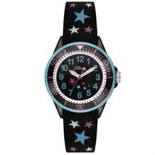 s.Oliver Armbanduhr MIT GRAVUR (z.B. Namen) SO-3178-PQ Uhr mit Sternchen für Mädchen Mädchenuhr