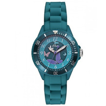 s.Oliver Armbanduhr MIT GRAVUR (z.B. Namen) SO-2597-PQ grün Mädchenuhr oder Damenuhr mit Silikonarmband
