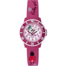 s.Oliver Kinderuhr SO-3726-PQ Kinder Armbanduhr pink