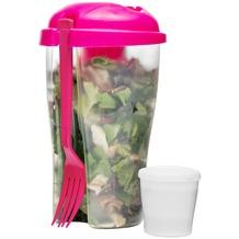 sagaform Salatbecher Fresh to go, pink
