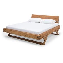 SalesFever Balkenbett 180 x 200 cm, Y-Beine Holz