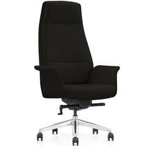 SalesFever Bürostuhl Kunstleder schwarz 390504