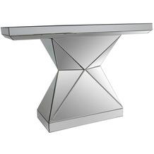 SalesFever Konsolentisch aus MDF mit Spiegelglas Spiegelglas, MDF Verspiegelt 394663