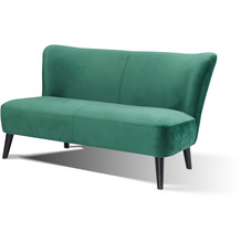 SalesFever Sofa Retro Samt