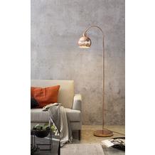 SalesFever Stehlampe aus Metall in Kupferoptik Metall Kupfer 393857
